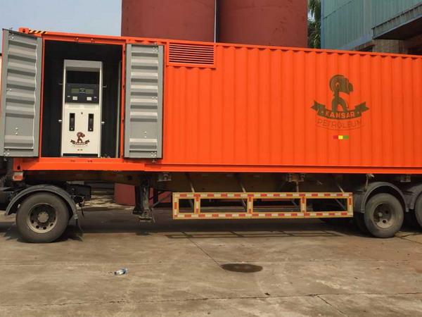 集装箱型加油站