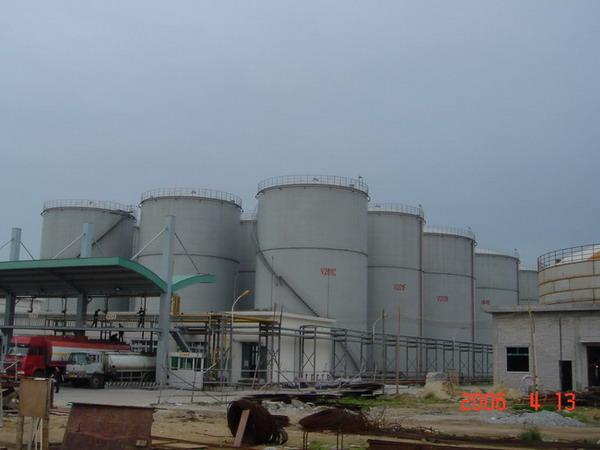 大型化工儲罐庫區