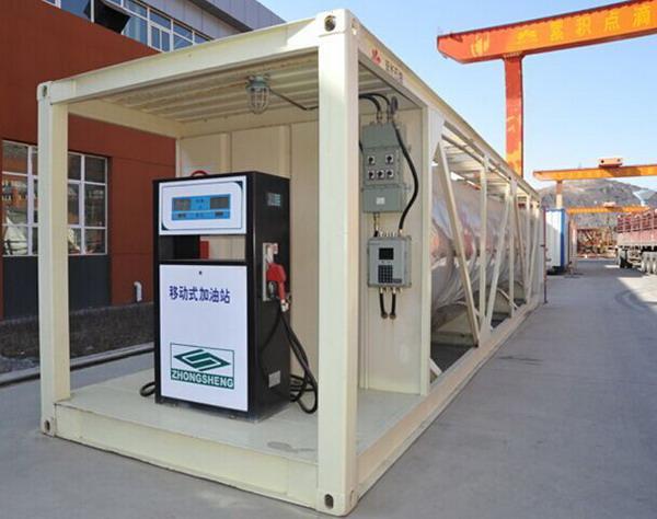 国外移动式加油站