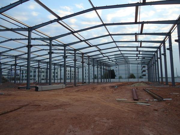 钢结构物流仓库