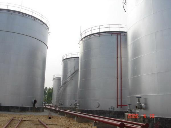 植物油库区输油管道